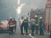 Waldbrand bei Wiesenau