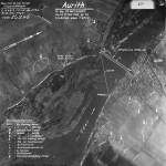 Luftbild der Heersfliegeraufklärung am Tag der geplanten Sprengung.