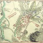 Plan der Schlacht um Kunersdorf