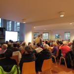 Zahlreiche Gäste folgten der Einladung ins Evangelische Gemeindezentrum.