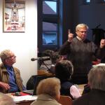 """Herr Schwiegk und Herr Lehmann, die """"Moderatoren"""" der Veranstaltung."""