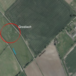 Luftbild mit Lagebeschreibungen