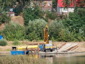Die ersten Bauarbeiten haben auf polnischer Seite begonnen.