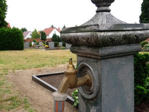 Wasserhahn ohne Knauf